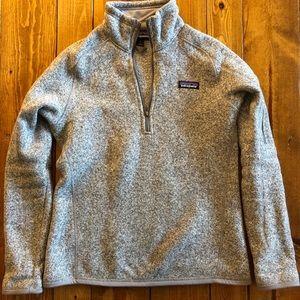 Patagonia Better Sweater 1/4 Zip Grey